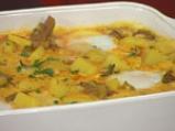 Яйчено къри с картофи 5