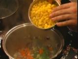 Кафяв ориз с червен фасул и царевица 2