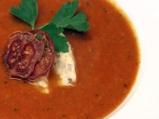 Доматена супа с пшеничени ньоки
