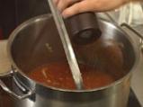 Доматена супа с пшеничени ньоки 2