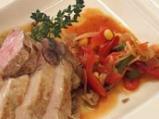 Свинско печено с панонски зеленчуци