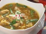 Рибeна супа с репички и марули