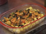 Яхния с пролетни картофи и маслини 4