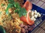 Шафрани пулао (Ориз със зеленчуци и ш...