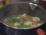 Шафрани пулао (Ориз със зеленчуци и шафран) 2
