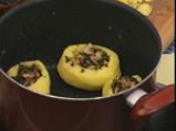 Пълнени картофи с коприва и гъби 4