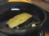 Лаврак с люспи от картофи 4