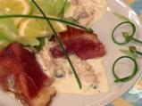 Патешки гърди в сос от риба тон