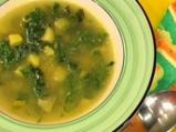 Спаначена супа с къри