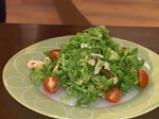 Зелена салата с аспержи и рулца от раци 5