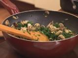 Лазаня със спанак и печурки 2