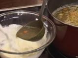 Пилешка супа с бухтички от кисело мляко 5
