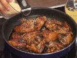 Пилешки крилца със сусам и ябълково колосло 2