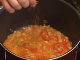 Мидена супа с резене и шафран 4