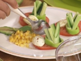 Градинарска салата с лимонов винегрет и риган 5