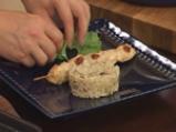 Пилешко грил кебап с пилаф и патладжани 8