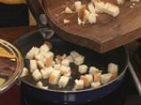Супа от червена леща с млечна застройка 5