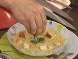 Супа от червена леща с млечна застройка 6