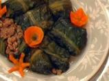 Сарми от марули в бульон