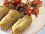 Крокети от зелен фасул със салата от ...