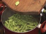Зелен фасул с картофи и телешко 2