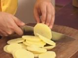 Зелен фасул с картофи и телешко 5