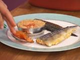 Скумрия плакия с ориз и домати 7