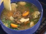 Супа с челядинки и печурки