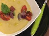Студена супа със зрял фасул с притурк...