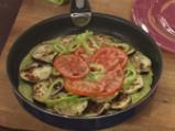 Патладжанена пица с блат от тиквички 6
