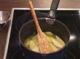 Пържени филийки със сироп и круши 4