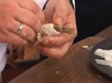 Кралски скариди, увити във филе от нилски костур 5