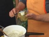 Лозови сарми със сирене 3