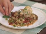 Пиле с ориз и грах 5