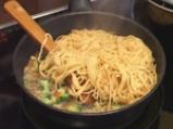 Домашни спагети със свинско и броколи 7