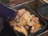Пуйка с традиционна плънка и гарнитура от моркови 2