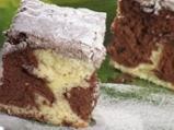 Дунапренен кекс в два цвята