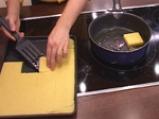 Качамак на тиган с карначета и броколи 6