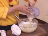 Бананов кекс с ванилова крем-глазура 3