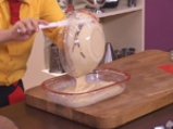 Бананов кекс с ванилова крем-глазура 4