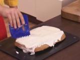 Бананов кекс с ванилова крем-глазура 6