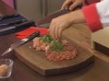 Пиле със зелен пипер в бутертесто 2