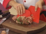 Пиле със зелен пипер в бутертесто 3