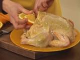 Пикантно пиле с портокали 5