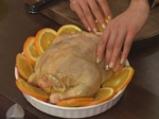 Пикантно пиле с портокали 6