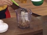 Рулована баклава с извара и банани 2