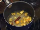 Рулована баклава с извара и банани 9