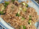 Ориз с броколи и гъби шийтаке 3