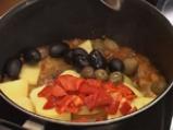 Яхния от свинско с маслини по испански 6