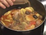 Яхния от свинско с маслини по испански 8
